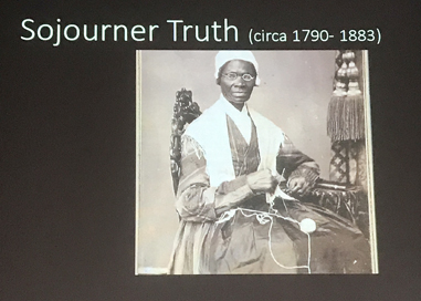 Wiederbegegnung mit Eva Karczag + Erstbegegnung mit Sojourner Truth an der ROADMAP-TO-EQUALITIES-IN-THE-ARTS-Konferenz in Arnhem (NL)